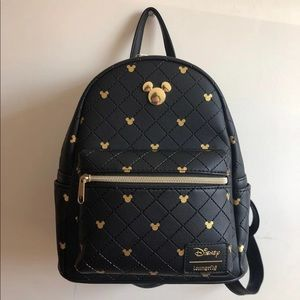 Loungefly Disney Mickey Mouse Quilted
